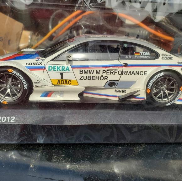 BMW M3 DTM 2012 model car